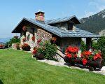 一栋盖有阁楼的美丽建筑。(Pixabay CC0 1.0)