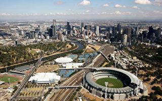 到本世紀中旬,澳洲人口將達3800萬人。圖為墨爾本CBD鳥瞰圖。(Mark Dadswell/Getty Images)