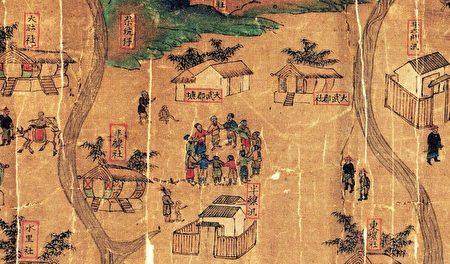 大肚番王的統轄圖中的大肚社、大武郡社、水里社等,是當時少數重創外來勢力的原住民族群。(資料來源/《解碼臺灣史 1550-1720 》,翁佳音、黃驗提供)