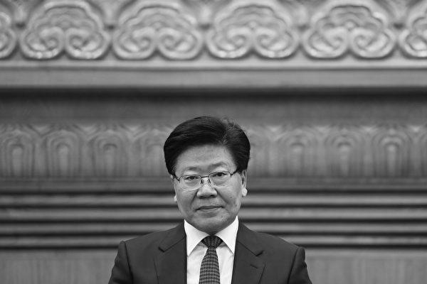 前新疆書記張春賢「十九大」出局。港媒分析了其可能的去向。(Lintao Zhang/Getty Images)