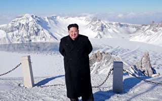 金正恩登白頭山 朝鮮官媒吹噓他能控制天氣