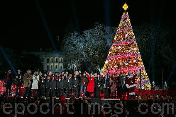 国家圣诞树点灯庆典