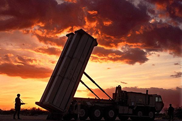 """在中韩关系破冰渐暖之际,中国国防部发言人吴谦11月30日突然再次强调""""撤除萨德才是解决问题的根本之道""""。(Lockheed Martin)"""