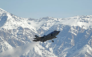 F-35闪电II投放激光制导智能炸弹演习 。(George Frey/Getty Images)