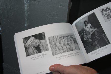 二戰作家記述倖存老兵的故事。