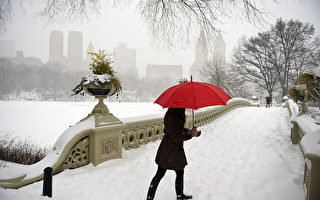冷空氣週五晚襲美東 將降雪數小時