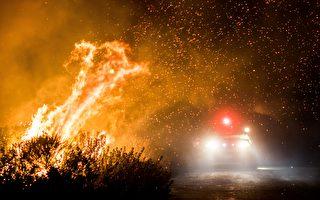 烈焰焚豪宅民居 南加州居民因一事感谢神