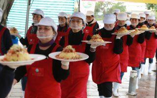 蘭陽溪口休閒農業區發表產地餐桌邀品嚐