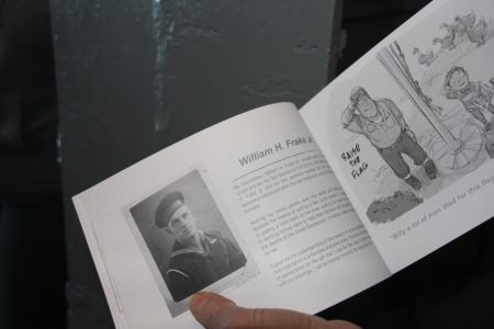 二战作家的父亲曾参加诺曼第登陆。