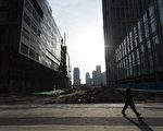 中共地方政府債務問題嚴重。(GREG BAKER/AFP/Getty Images)