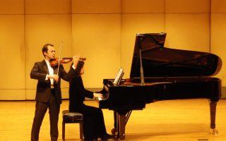 蔦松國中與國際級小提琴家 再續音緣