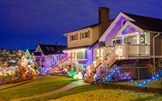 多倫多家庭聖誕彩燈引人注目