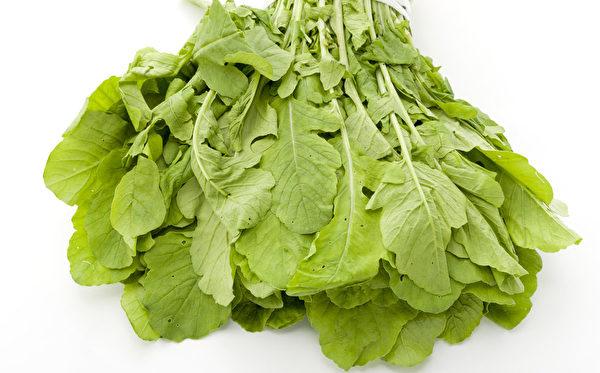 萝卜叶含有丰富纤维,能治便秘。(Shutterstock)