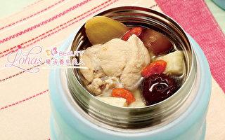 不用锅就能煮的红枣山药鸡汤