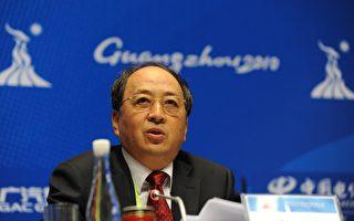 圖為中共國家體育總局副局長肖天。(PETER PARKS/AFP/Getty Images)