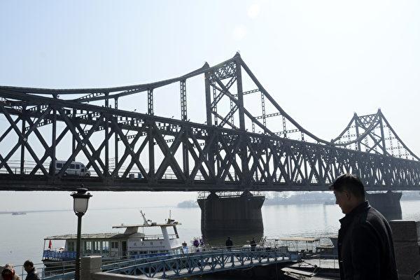 图为中国与北韩边境中国一侧。(WANG ZHAO/AFP/Getty Images)