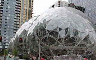 走進亞馬遜新「球體」大樓 如置身叢林