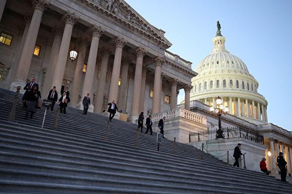 """美国外国投资委员会周二(1月9日)进行了年内第一次听证,主题为""""全球经济变化带来的挑战""""。(Mark Wilson/Getty Images)"""