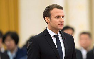 法国总统马克龙访华之际,中国人权问题再度成为法国媒体关注的焦点。(Lintao Zhang/Getty Images)
