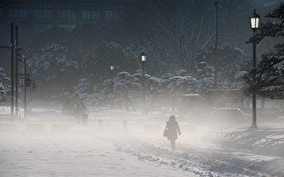 東京4年來最強大雪2死719傷 萬人夜宿機場
