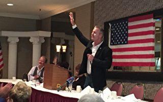 州長參選人艾倫聖荷西演講:把加州帶回正途