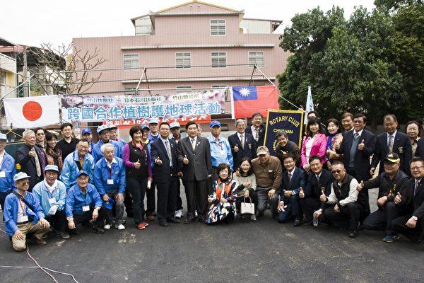 日本扶轮社赠南投竹山樱花 为环保与观光加分