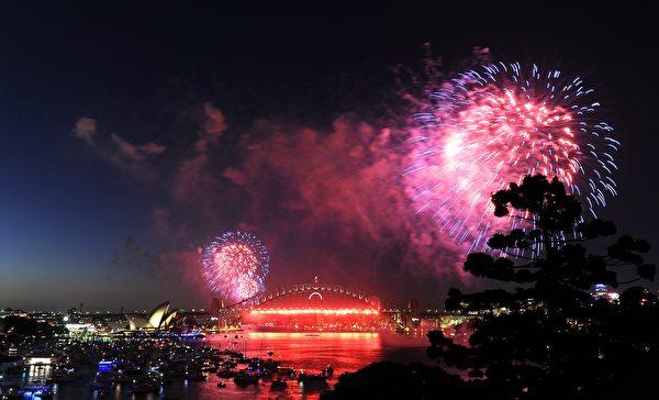 悉尼2018新年煙花秀(GettyImage)
