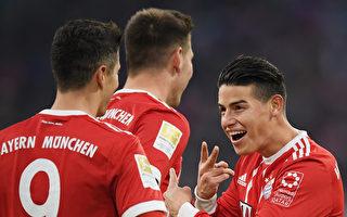 拜仁16分领跑 创德甲纪录 汉堡主帅下课