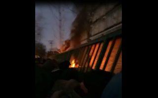 北京国家信访局今早发生大火