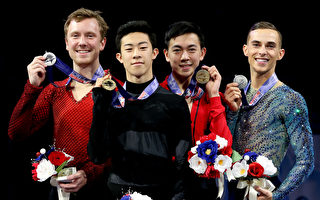 组图:3华裔滑冰选手代表美国进军冬奥会