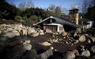 加州泥石流17死43失踪 男子挖泥4英尺救婴儿