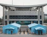 韓朝會談開啟 雙方領導人遠距監控現場