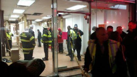 包厘街85號被鑑定為危樓,市樓宇局18日突然執法清空,75名租客要撤離。
