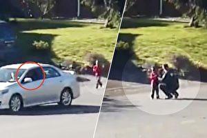 司機路遇4歲童狂奔 下車阻攔 警察趕到後嚇出一身冷汗