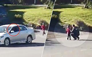 司机路遇4岁童狂奔 下车阻拦 警察赶到后吓出一身冷汗