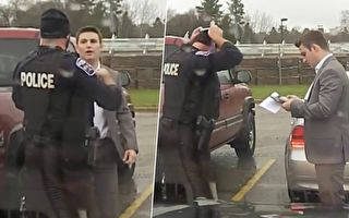 警察追上超速男 做了件好事 却让警长坚持唤其前来