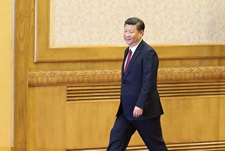 """习近平多次在公开场合说,要严防发生""""颠覆性错误""""。 (Lintao Zhang/Getty Images)"""