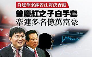 金融大鳄肖建华(左)(大纪元合成图)