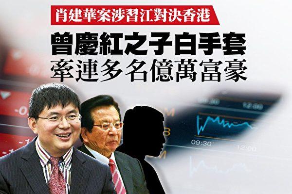 肖建华(左)(大纪元合成图)