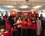 大年三十福寿老人中心500耆老新年团拜