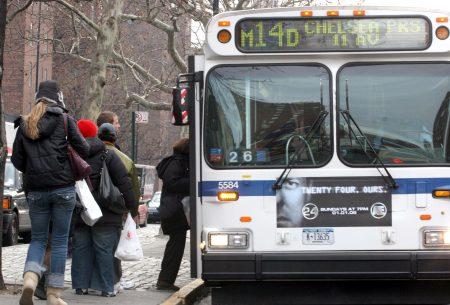 一份最新的報告指出,紐約市公交巴士線路的綜合評級不及格率超過七成。