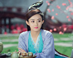 """赵丽颖发文宣传新剧 意外暴露用""""古董""""手机"""
