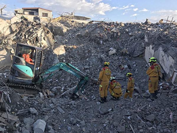 台灣花蓮強震後19天 2陸客遺體25日可移出