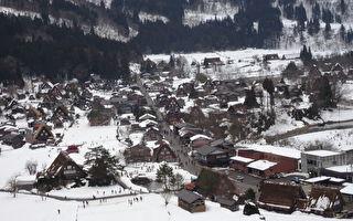 合掌村美如童话 观赏遗世绝品雪景