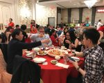 华人吃年夜饭 酒楼一席难求