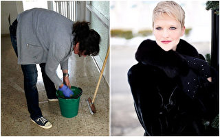 一位女士不快乐,她的心理医生找来一位清洁工。后来她豁然开朗。图为示意图。(|jill111/Peter774/Pixasbay,大纪元合成)