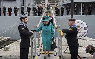 英艦下月南海巡航 中共對手變「西方聯軍」?