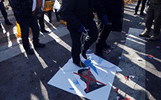 韓朝女子冰球隊熱身賽落敗 場外爆抗議