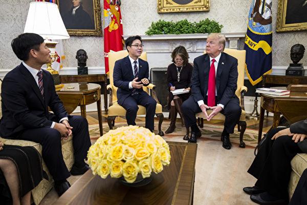 川普为何让脱北者坐上国家元首的座席?