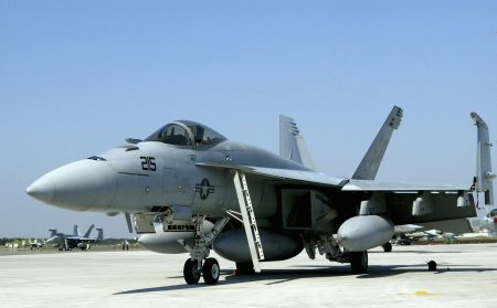 外傳空軍有意採購美國「大黃蜂」戰鬥機F/A-18,加強我方空優戰力。